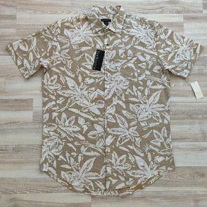 Short Sleeve Hawaiian Button-up Shirt